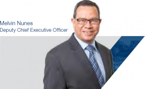 Melvin Nunes Deputy Chief Executive Officer