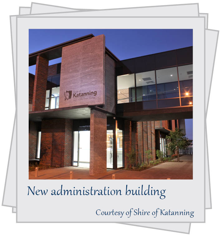 New administration building. Courtesy of Shire of Katanning