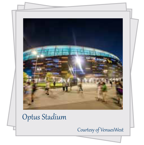 Optus Stadium. Courtesy of VenuesWest