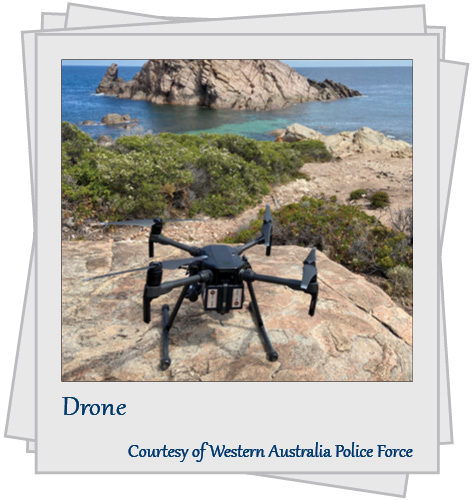 Drone. Courtesy of Western Australia Police Force