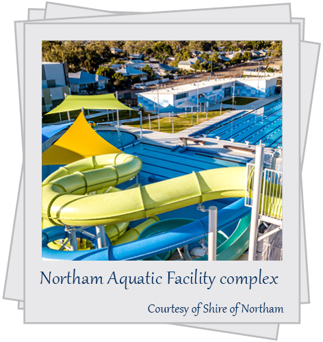 Northam Aquatic Facility complex. Courtesy of Shire of Northam