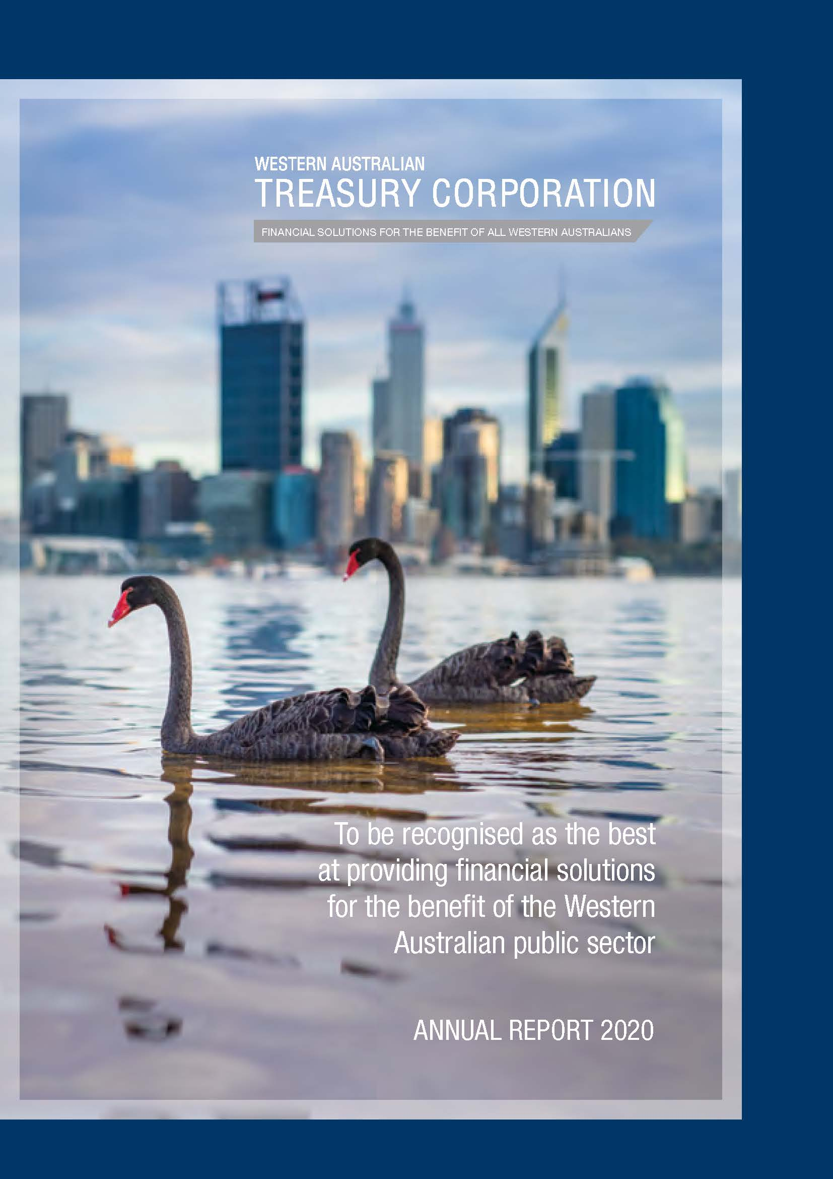 WATC 2020 Annual Report front cover