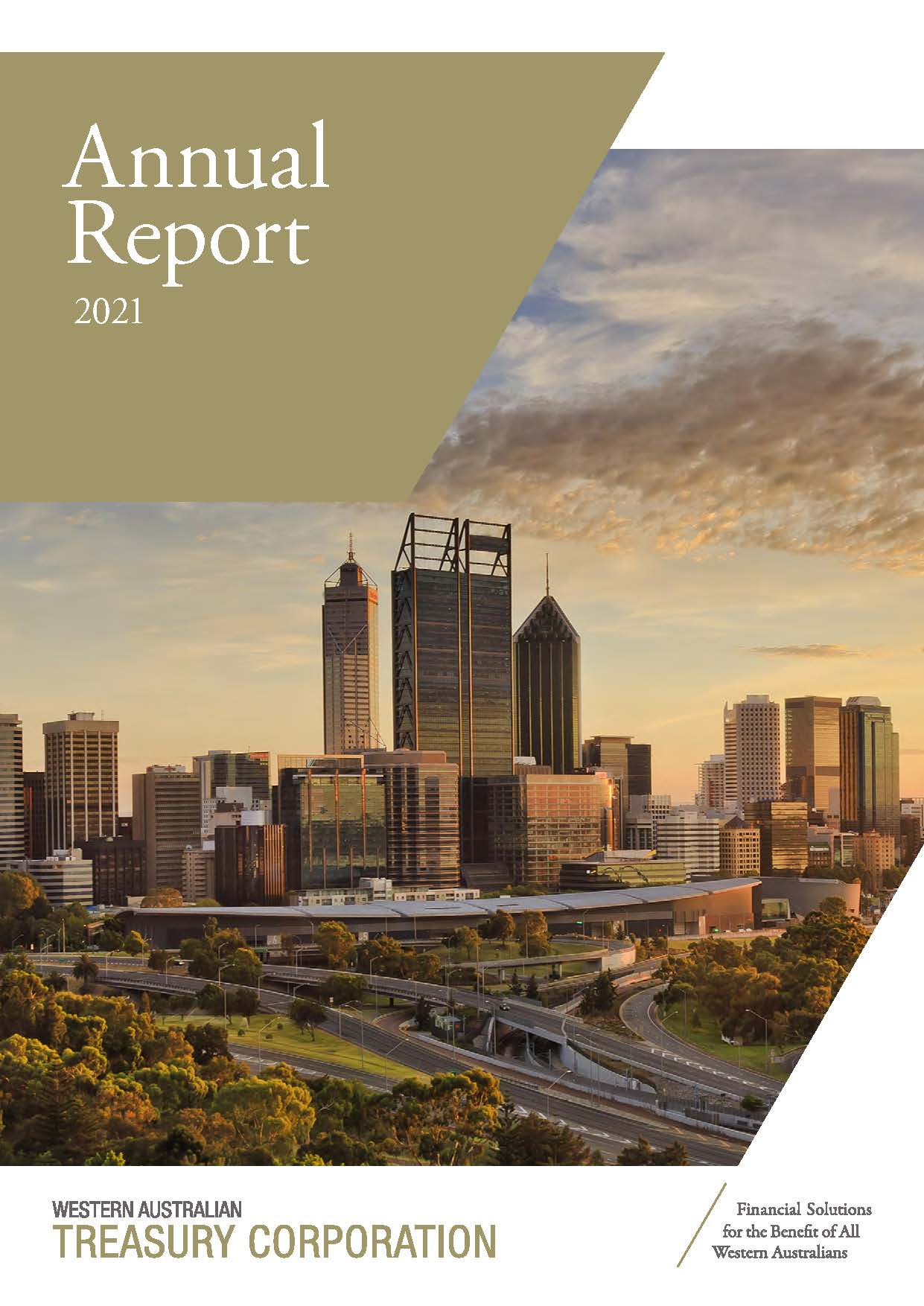 WATC 2021 Annual Report front cover